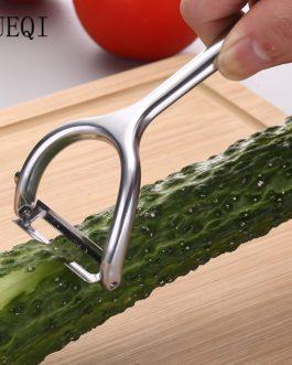 JueQi Vegetable Fruit Peeler Stainless Steel Super Sharp Potato Peeler Kitchen Gadget 18/8 Dishwasher Safety Kitchen Accessories